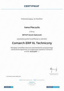 Irena Pieczulis XL Techniczny