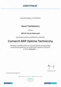 KT-COMARCH ERP Optima Techniczny