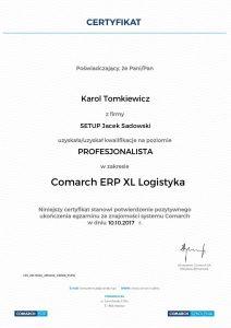 KT-COMARCH ERP XL Logistyka - poziom Profesjonalista