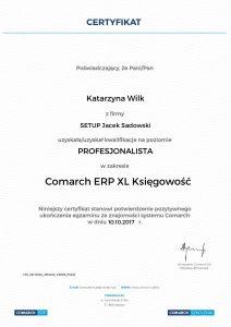 Katarzyna Wilk XL Księgowość Profesjonalista